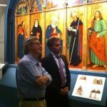 Sgarbi con il consigliere provinciale Antonio Baldelli