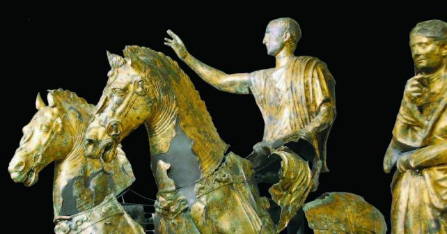 Bronzi dorati di Pergola