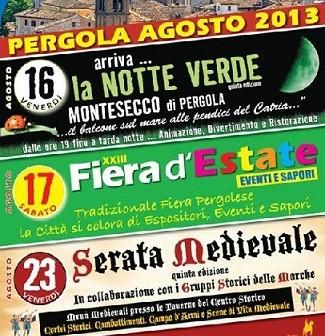 Eventi estate 2013