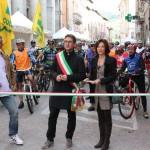 Partenza escursione cicloturistica