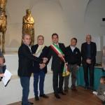Premiazioni Gli Ori di Pergola, il sindaco Baldelli e Renzo Antonietti