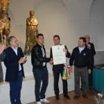Il sindaco Baldelli premia il campione Franco Cimarelli