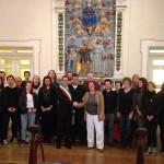 pergola-bronzi-dorati-progetto-europeo-studenti
