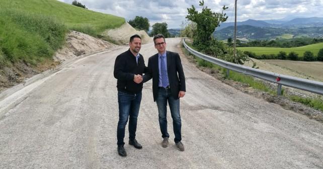 Da sinistra Tagliolini con Baldelli