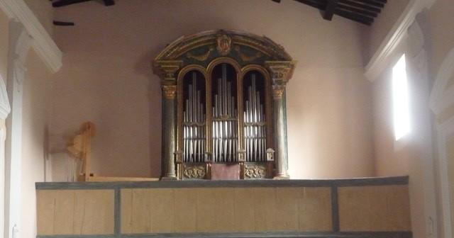 Organo nella Chiesa di San Giuseppe a Montevecchio di Pergola