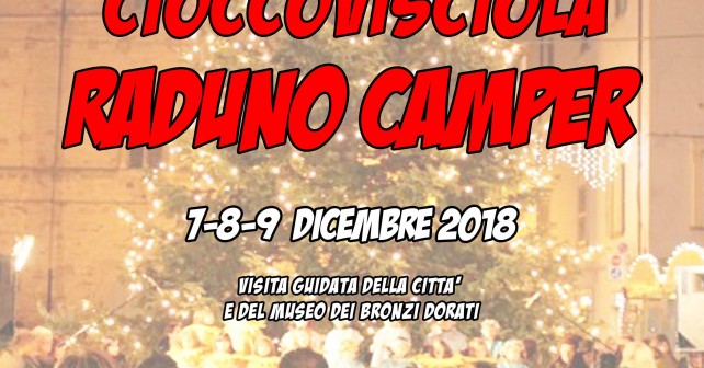 cioccovisciola pergola raduno camper -dic2018